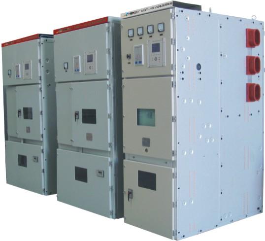 针对如此复杂的系统,难以孤立的使用某种或某几种过电压保护装置来全面抑制各种类型的系统过电压,且这些不同厂家生产的过电压保护产品,因保护特性不能相互匹配,而无法彻底有效的抑制系统过电压。   针对目前中压系统过电压防治的现状,我公司研制生产了系统过电压抑制柜(简称抑制柜,型号MQY(J)),该柜可消除系统中过电压保护元件及装置的保护死区,优化系统过电压的保护特性,提升系统过电压保护水平。 二、装置的适用范围   MQY过电压抑制柜适用于发电、变电和用电企业的3~35KV电力系统,并可替代电压互感器柜、专
